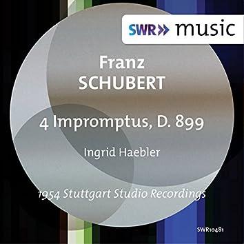 Schubert: 4 Impromptus, D. 899