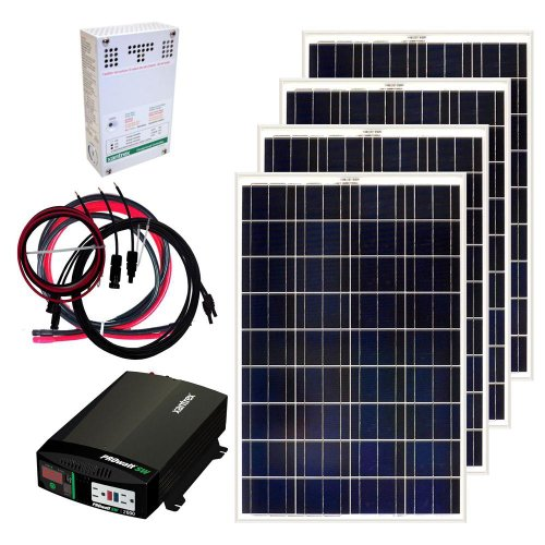 Grape Solar GS-400-KIT 400-Watt Off-Grid...