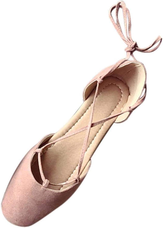 JaHGDU Fashion Women Sandals Summer Boom shoes Wedges Weave Middle Heel Sandals Casual shoes Low Top Lace Up Fashion Sandals