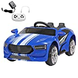 Ride on Car for Kids, 6V Battery Powered Electric Sports Car for Toddlers 1-3 Year with MP3,...
