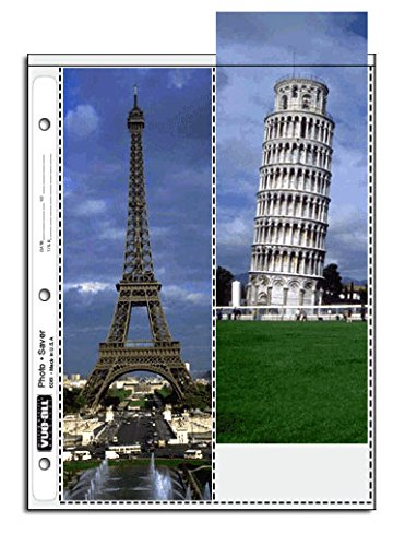Vue All V6127 Vue-All 4X11.5 Photo Saver Tl Pack of 25