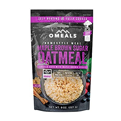 OMEALS Maple Brown Sugar Oatmeal - Homestyle Meals