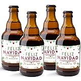 CEREX pack de 20 cervezas artesanales FELIZ NAVIDAD cerveza especial trigo doble fermentacion cerveza alemana