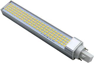 SGJFZD 96LED 20W Cool White Warm White LED Corn Light Bulb Horizontal Plug Light Bulb(AC 85-265V),G24 5730SMD (Color : Coo...