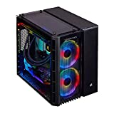 CORSAIR Vengeance 6180 Gaming PC, Liquid Cooled AMD Ryzen 7 3700X, AMD Radeon RX 5700 XT, 480GB M.2, 2TB HDD, 16GB DDR4-3200