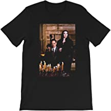 Cara Mia, Mon Cher Quotes Addams Family Values Horror Tv Movie Morticia Addams Gift for Men Women Girls Unisex T-Shirt