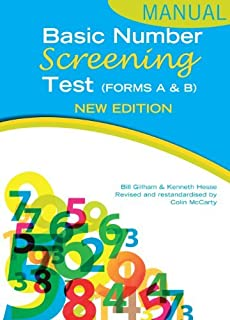 Basic Number Screening Test Manual (4th Edition) by Ken Hesse (2012-01-27)