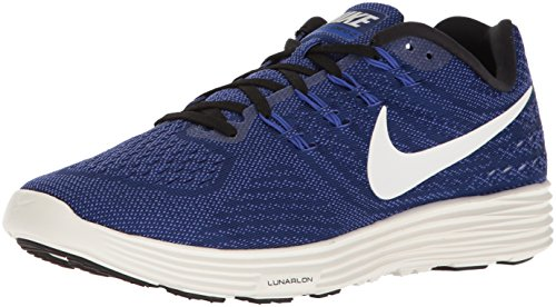 Nike Herren Lunartempo 2 Laufschuhe, Blau (Deep Royal Blue/Summit White), 41 EU