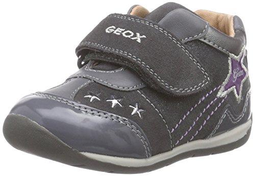 Geox Baby Mädchen B Each Girl A Sneaker, Grau (C9002DK Grey), 25 EU