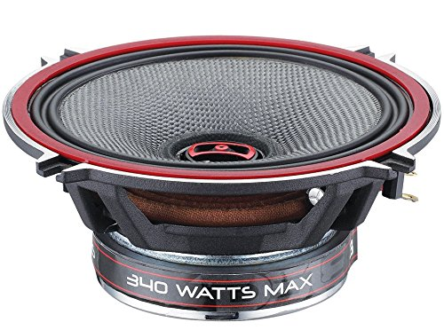 Price comparison product image DS18 EXL-SQ5.25 - 5.25-Inch 3-OHMS High Sound Quality Speaker - Sleek Compact Design with A Chrome Finish - Superior Bass Response - 800 WATTS Max - SET OF 2