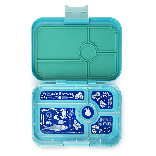 YUMBOX TAPAS Larger Size Leakproof Bento Lunch Box (Antibes Blue)