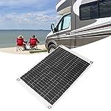 XQAQX Panel Solar, Panel Solar Flexible, Tablero de Cargador Solar, 15W ETFE Panel Solar Flexible de polisilicio Tablero de Cargador de batería de Coche Solar Cargador de teléfono móvil 12V