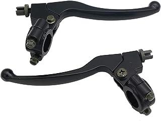 Suzuki TS185 71-79 Polished Black PVC Tip Brake Lever 57420-18602