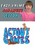 Easy Anime Japanese Lesson 1