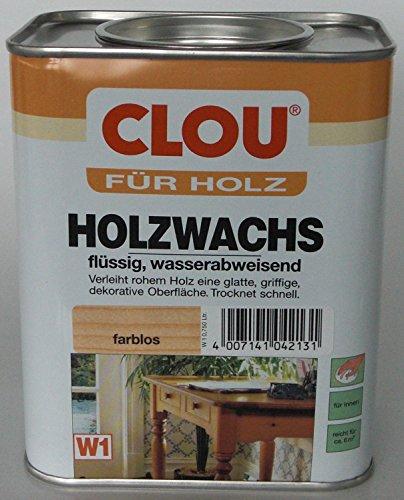 Holzwachs W1 farblos 0,750 L