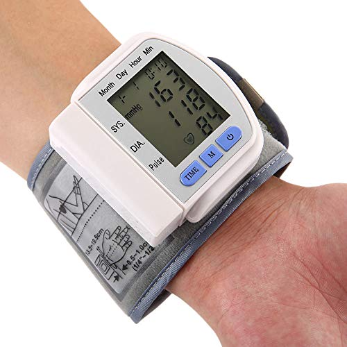 Sphygmomanometer Blutdruckmessgerät Automatische Handgelenk Elektrische Verstellbare Große Manschette Puls Monitor LCD Display Für Das Gesundheitswesen Hojz