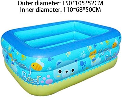 ZJ-Aufblasbarer Pool BabyschwimmbadausgangsGrößes Baby, das das Neugeborene badende Fass des neugeborenen Kindes des aufblasbaren Isolierungsschwimmbads verdickt (Größe   1.5m3layer)