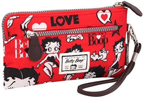 Karactermania Betty Boop Rouge Bolsas de Aseo, 21 cm, Rojo