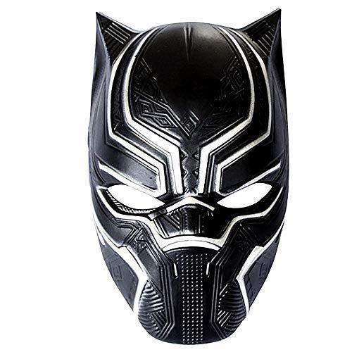Lovelegis Black Panther Maske - Maske - Black Panther - Accessoires - Mann - Frau - Kind - Kostüm - Kostüm - Karneval - Halloween - Cosplay - Geschenkidee für Weihnachten und Geburtstag