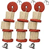 <span class='highlight'>AB</span> <span class='highlight'>Tools</span> <span class='highlight'>Rosewood</span> <span class='highlight'>Small</span> Animals/Birds <span class='highlight'>Boredom</span> Breaker Edible Hide N Treat Chain - Large 3Pack
