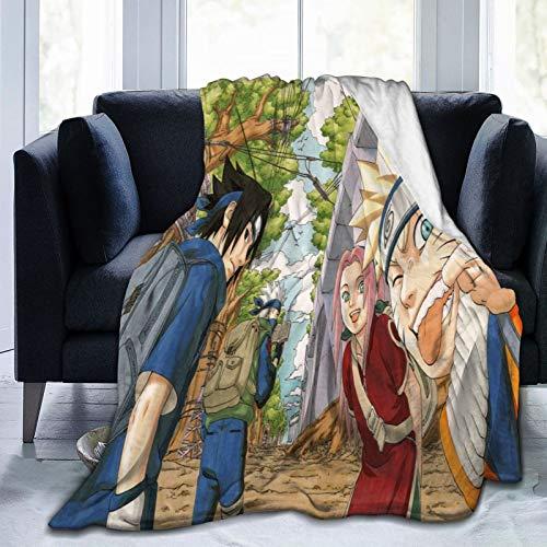 Onsael Ultra-Soft 50'X40' Blanket for Adult Anti-Fleece Blanket, Microfiber Bedding, Super Soft and Comfortable Luxury Sofa Blanket-Masashi Kishimoto_Naruto Shippuuden_Uzumaki Naruto_Haru