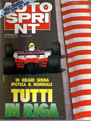 Autosprint 35 agosto 1988 Senna, 4000 Km in Cina, Allen 1000 Laghi