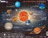 Larsen SS1 Sistema Solar, edición en Francés, Puzzle de Marco con 70 Piezas