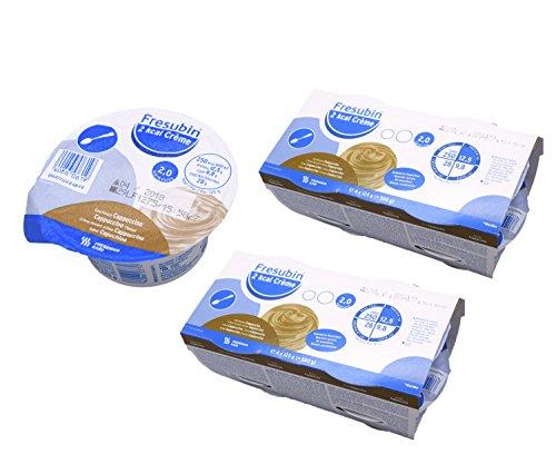 Fresubin 2 kcal Creme Cappuccino 8x 125g (2x 4x 125g) - Im ConsuMed Produktbundle inkl. Produktplakat