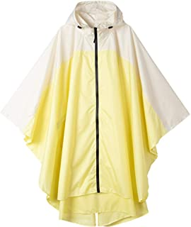 Lightweight Rain Poncho Hooded Waterproof Raincoat Jacket for Adults with Pockets