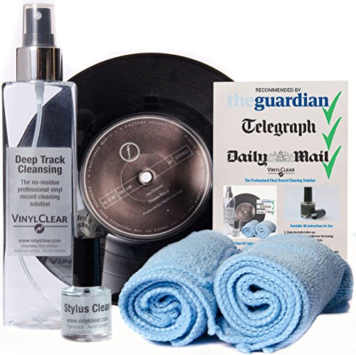 Audiophile Choice Advanced Vinyl Record Cleaning Kit -...