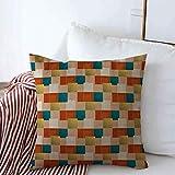 Funda de Almohada Ejemplo de Color Apk Nuevo para Inocencia Mezcla Celdas Coloreadas Coloridas Almohadas complejas Fundas 18 'x18' para el Invierno