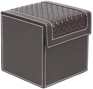 Lwieui Caja de Almacenamiento de CD CD Caso de Almacenamiento Mantiene 16x16x16.5cm 80 estándar de CD for el Coche hogar y...