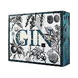 Gin Adventskalender 2021 von WAJOS   Cocktail & Gin Tonic Weihnachtskalender mit 24 Türchen voll mit Gin, Tonic Sirup & Likör   Gin Geschenk   Geschenkidee für Gin Fans & Cocktail Liebhaber