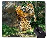 Yanteng Alfombrilla de ratón prevalente de Tigre, Alfombrilla de ratón Animal World Office