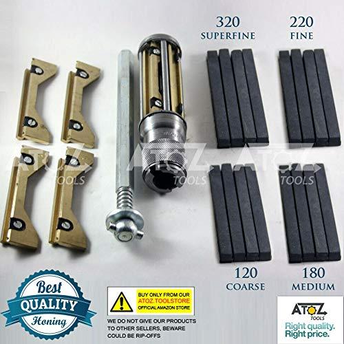Hongerät A Honwerkzeug Zylinder Motor + 4 Honen Steine satz (34-60 mm)