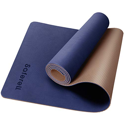 hot yoga Mat Cork yoga mat with Natural rubber /& carrying strap fitness mat 4mm thick 183cm x 61cm even with sweat Ideal exercise mat Really non-slip exercise mat /& yoga mat for home//studio