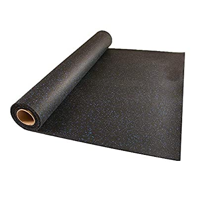 Greatmats 4x10 Ft Rolled Rubber