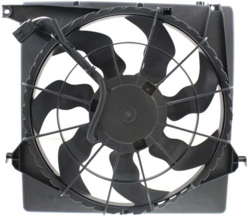 MAPM Premium SANTA FE 13-16 RADIATOR E 2.0L FAN sold out ASSEMBLY SHROUD Sale special price