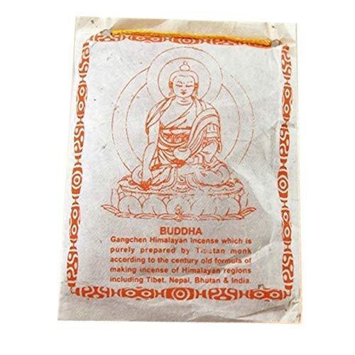 Tibetisches Weihrauchpulver Buddha - 40 gr.