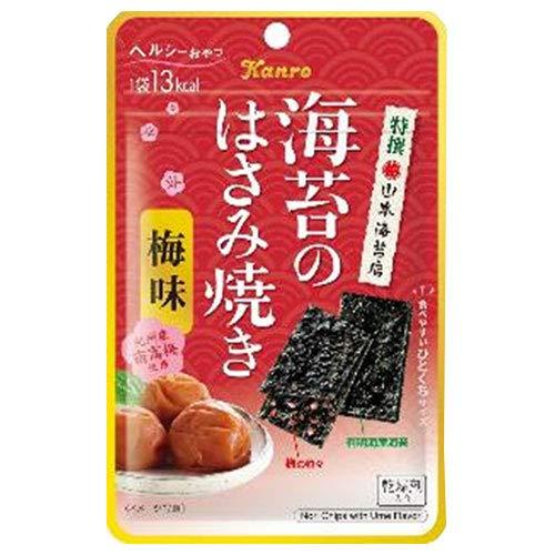 カンロ 海苔のはさみ焼き梅味 4.4g×12袋入