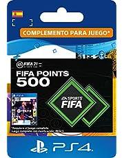 FIFA 21 Ultimate Team 500 FIFA Points | Código de descarga PS4 (incl. upgrade gratuita a PS5) - Cuenta española