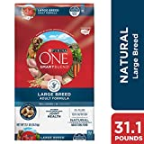 Purina ONE Natural Large Breed Dry Dog Food, SmartBlend Large Breed...