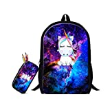 ZRENTAO School Backpacks Sets For Teens Boys Girls Nersury/High School Students