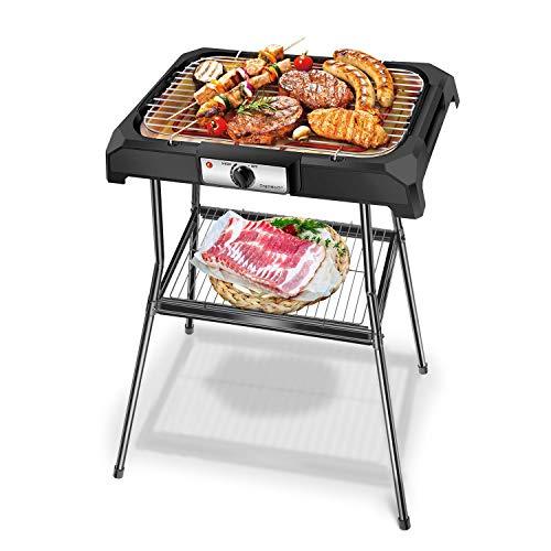 Aigostar Lava Pro - Grill électrique barbecue avec support...