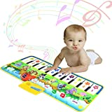 Piano Mat for Toddler, Musical Piano Keyboard Mat Dance Mat Funny Animal Touch