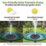 Immagine 2 fontana pompa solare da giardino