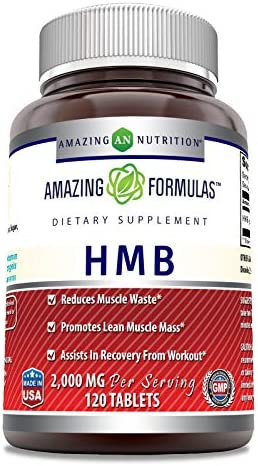 Amazing Formulas HMB 2 000 MG 60 Servings Supports Lean Muscle Mass Boosts Workout Recovery product image