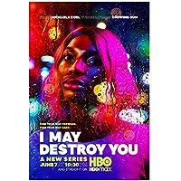 I May Destroy You(2020)ポスターとプリントTVシリーズファッショントレンド美しいホームアート装飾ポスター壁装飾ギフト-20x28インチフレームなし