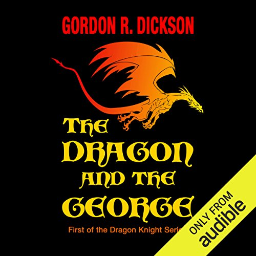 The Dragon and the George audiobook cover art