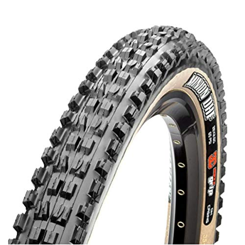 Maxxis Unisex – Adult's Skinwall EXO Dual Bicycle Tyres, Black, 27.5x2.50 63-584